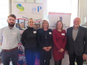 Staff from WAP & WCLES at Coffee & Connect event