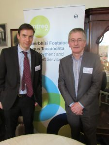 Edward Kavanagh & Liam Murphy of Department of Social Protection