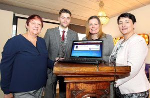 Lucy Reinl, WCLES, Cllr Adam Wyse, Mayor of Waterford City and County, Mags O Connor & Bridget O Connor, WCLES