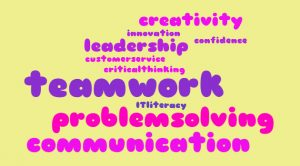 Soft Skills word cloud